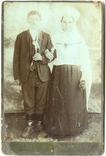 Весільне фото з Нового Буга, Миколаївщина, поч. ХХ ст., фото №2