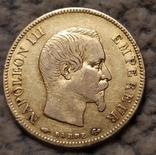 10 франков 1857г. Франция., фото №4