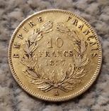 10 франков 1857г. Франция., фото №6