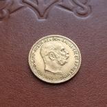 10 крон корон 1912 Австрия, фото №2