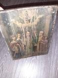Икона Покрова Пресвятой Богородицы на дереве 22 * 28.5см, фото №6