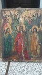 Икона Собор Ангелов 14х11см, фото №5