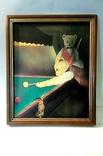 """Репродукция картины из серии """"Медведи играют бильярд"""". XX век, Англия., фото №2"""