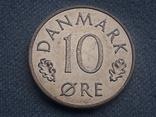 Дания 10 эре 1986 года, фото №2