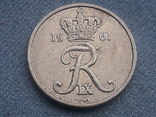 Дания 10 эре 1961 года, фото №3