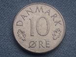 Дания 10 эре 1975 года, фото №2