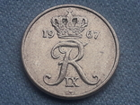 Дания 10 эре 1967 года, фото №3