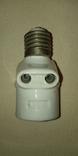 Патрон фарфоровый с розеткой, 6 Аmp, 250 V, фото №8