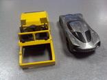 Машинка Chevrolet Corvette дорожная техника Hot Wheels лот 2 шт, фото №6