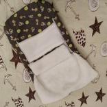 Конверт для новорожденных, меховой., фото №3