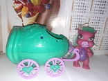Дракон и коляскa (яйцо) трансформер Sitara из серии Mistic babies, фото №9