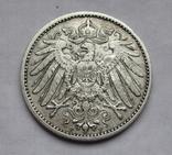 1 марка 1902 г. (F) Германия, серебро, фото №8