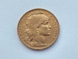 Франция 20 франков 1906 год, фото №2