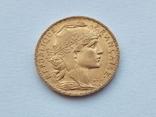 Франция 20 франков 1906 год, фото №3