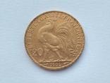 Франция 20 франков 1906 год, фото №4
