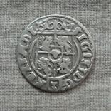 Полторак ( 1/24 талера ) 1623 года. Сиг. ІІІ Ваза. M ' ONENO., фото №4