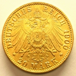 Гамбург 20 марок 1900 г., фото №4