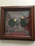 Монети в рамці. Копіі., фото №2