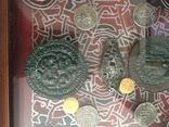 Монети в рамці. Копіі., фото №3