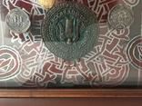 Монети в рамці. Копіі., фото №5
