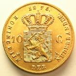 Нидерланды 10 гульденов 1875 г., фото №3