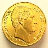 Бельгия 20 франков 1865 г., фото №2