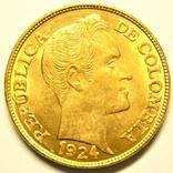 Колумбия 5 песо 1924 г., фото №2