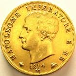 Италия 40 лир 1814 г., фото №2