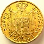 Италия 40 лир 1814 г., фото №3