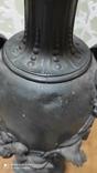 Большая керассиновая лампа 19 век., фото №10