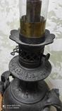 Большая керассиновая лампа 19 век., фото №12