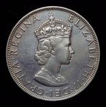 Бермуды крона 1964 серебро, фото №3