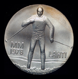 Финляндия 25 марок 1978 серебро 26,3 грамм, фото №3