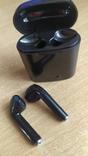 Наушники i7 Tws Bluetooth c зарядным боксом (чёрные), фото №3