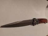 Нож с боковым выбросом (перо), фото №7