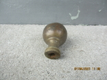 Старая дверная ручка бронза (78гр.), фото №5