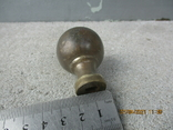 Старая дверная ручка бронза (78гр.), фото №7