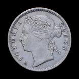 10 Центов 1889, Стрейтс Сеттлментс, фото №2