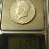 США 50 центов 1967 года., фото №2