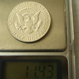 США 50 центов 1967 года., фото №3