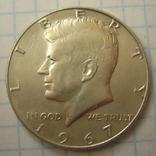 США 50 центов 1967 года., фото №4