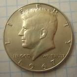 США 50 центов 1967 года., фото №5