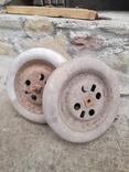 Запчасти к детской педальной машины (колеса и тяга), фото №2