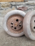 Запчасти к детской педальной машины (колеса и тяга), фото №3