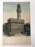 Открытка Италия Palazzo Vecchio, architettura di Arnolfo di Cambio Firenze, фото №2