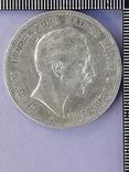 5 марок, Пруссия, император Вильгель II, 1898 год, серебро 0.900, 27.77 грамм, фото №2