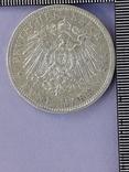 5 марок, Пруссия, император Вильгель II, 1898 год, серебро 0.900, 27.77 грамм, фото №3