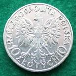 Польша 10 злотых 1932 г., фото №3