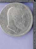 5 марок, Германская империя, Вюртемберг, 1903 год, серебро 0.900, 27.77 грамм, фото №2