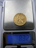 """США 5 долларов, 1886г . """"Половина орла"""", фото №5"""